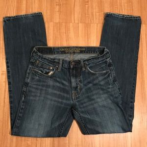 American Eagle original straight 29x32 blue jeans